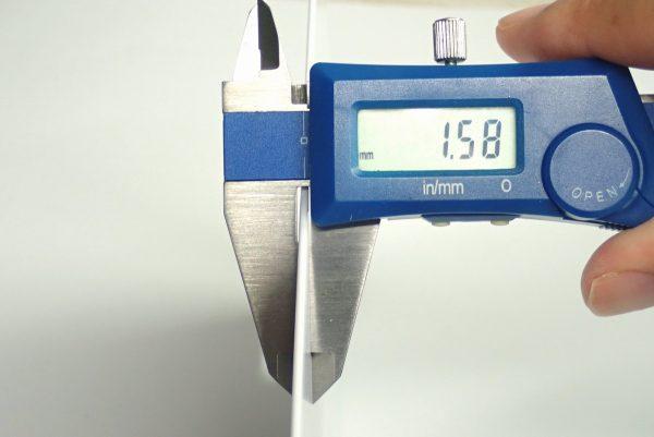 百均浪漫◆ミニサイズのシートまな板。まな板サイズ測定。