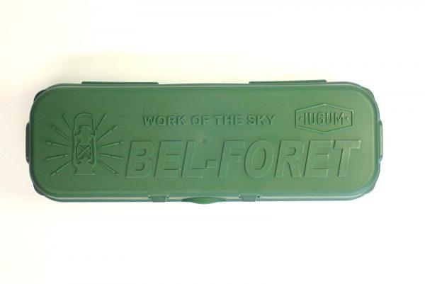 百均浪漫◆IUGUM BEL-FORET パックケース ロング。上面詳細写真。