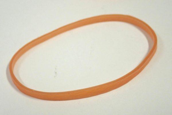 百均浪漫◆幅3mmのワイドゴムバンド100本入り。輪ゴム。