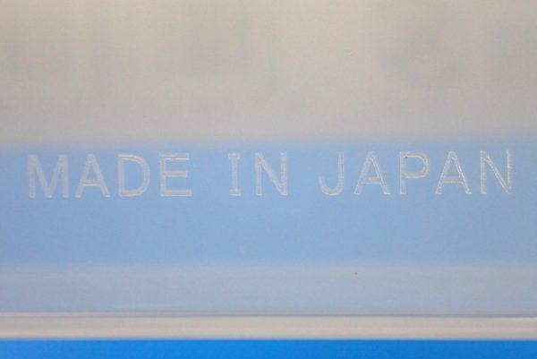 百均浪漫◆日本製 和泉化成。セパレートボックスSSサイズ。パッケージ裏側詳細写真。