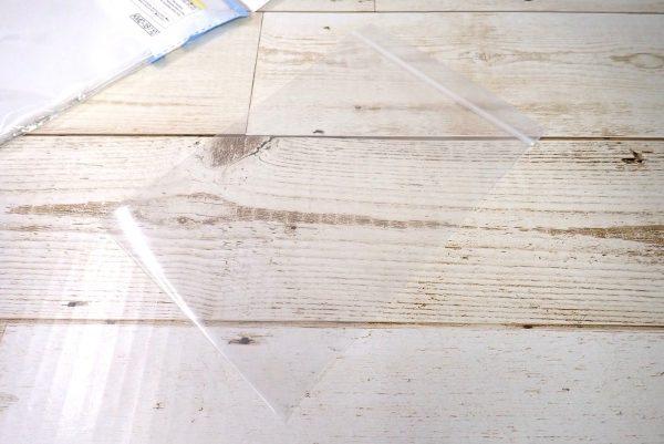 百均浪漫◆ダイソー・厚めのチャック袋、30枚入。チャック付きビニール袋詳細写真。
