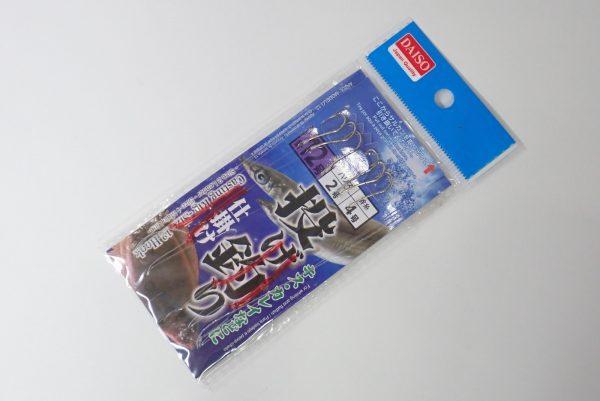百均浪漫◆ダイソー・釣・投げ釣り仕掛け 針9号ハリス2号道糸4号。12号、10号など、他のサイズもあり。