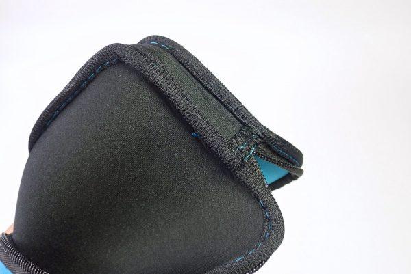 百均浪漫◆クッション保護、モバイルホルダーM。ひっくり返して縫製チェック。