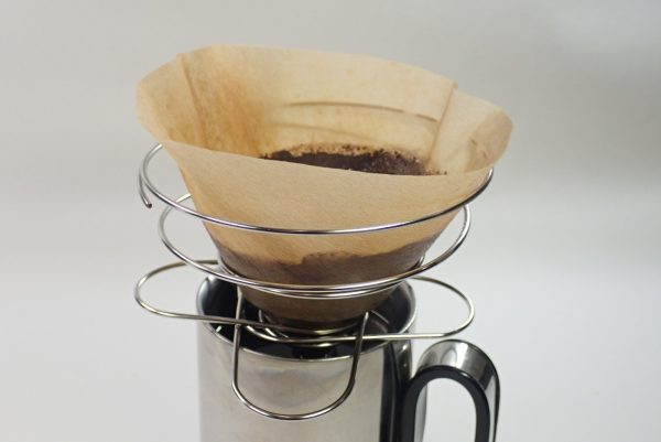 百均浪漫◆山コーヒーにも最適、折りたたみ式コーヒードリッパー。使用方法。