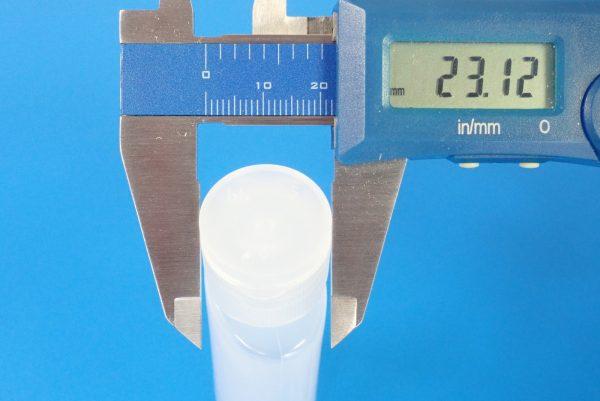 百均浪漫◆ワンタッチボトル30ml 3本セット。サイズ測定。
