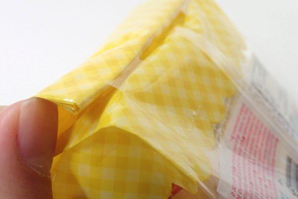 百均浪漫◆簡単ホイップ!フワ泡ホイッパー。パッケージはテープを貼って閉じてある。