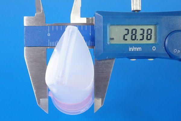 百均浪漫◆旅行ボトルセット。サイズ測定。