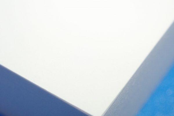 百均浪漫◆白い付箋紙75x75 120枚。つるっとした表面。