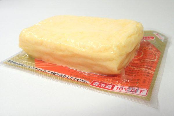百均浪漫◆三和製玉 だし巻卵焼。ふっくらとした感じがおいしそう。