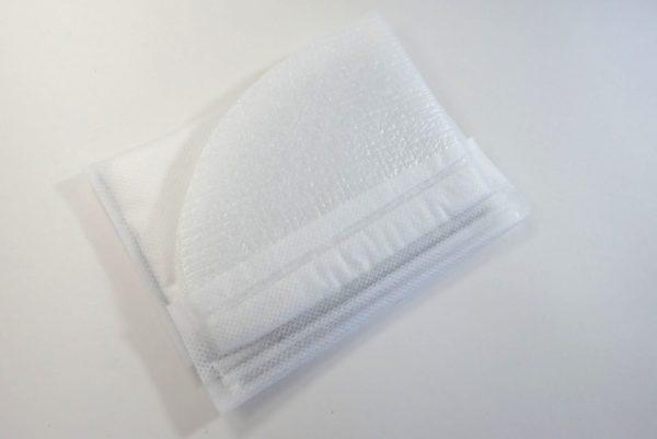 百均浪漫◆携帯ミニトイレ袋。柔らかくて肌に優しそう。