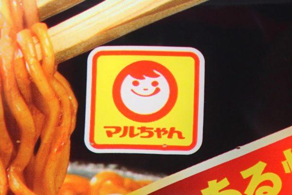 百均浪漫◆マルちゃん がつ盛ソース焼きそば大盛からしマヨネーズ付。マルちゃんは株式会社東洋水産です。