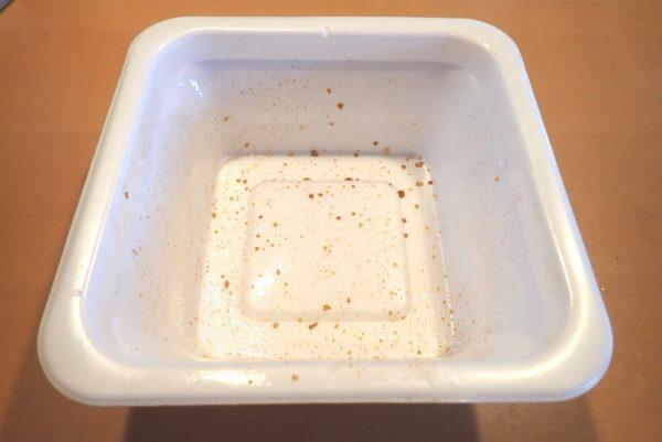 百均浪漫◆マルちゃん がつ盛ソース焼きそば大盛からしマヨネーズ付。というわけで、あっさり完食。
