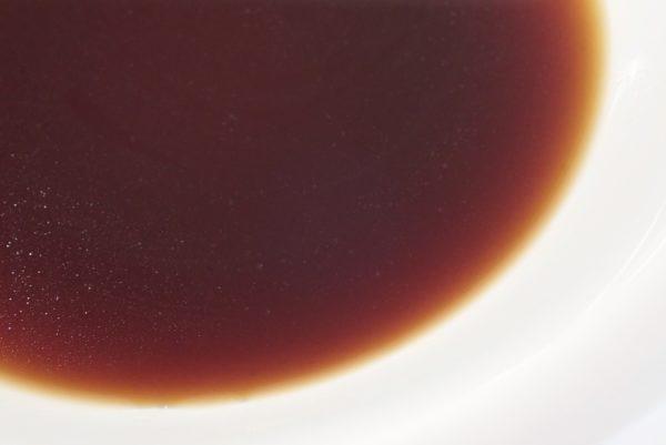 百均浪漫◆煮豚風煮たまご3個入。タレは意外と味薄目。