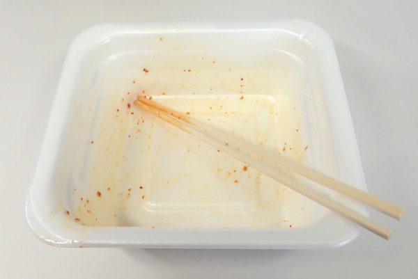 百均浪漫◆マルちゃん亀田の柿の種味焼そば。ごちそうさまでした。